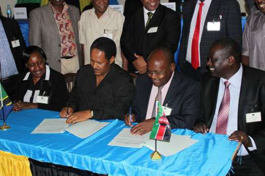 Tanzania and Kenya Sign agreement to tacle illegal timber trade